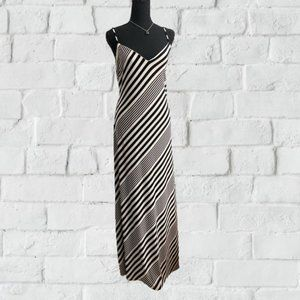 Lauren Ralph Lauren Full Length B&W Dress